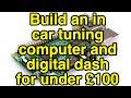 PiDash FULL TUTORIAL - How to make a Raspberry Pi powered dash for Megasquirt / TunerStudio