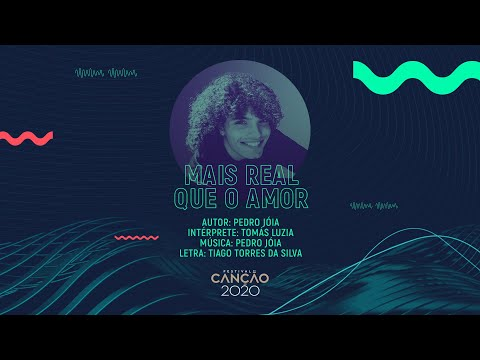 Tomás Luzia - Mais Real que o Amor (Lyric Video) | Festival da Canção 2020