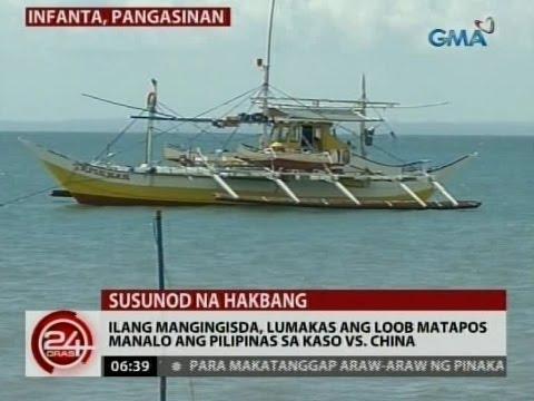 24 Oras: Ilang mangingisda, lumakas ang loob matapos manalo ang Pilipinas sa kaso vs. China