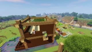 Minecraft マルチプレイ建築リプレイ動画
