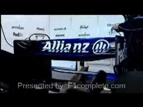 Formula 1 monocoque