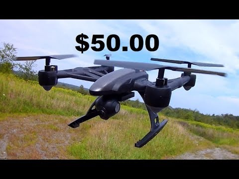 Yuneec Typhoon $50 JXD 509 FLIGHT TEST RC DRONE REVIEW