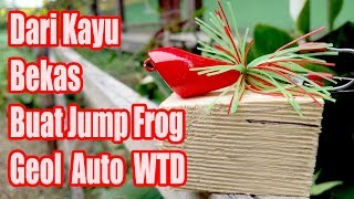 Download Video Cara membuat lure jump frog geol / How to make a jump frog WTD [ Walk The Dog ] MP3 3GP MP4