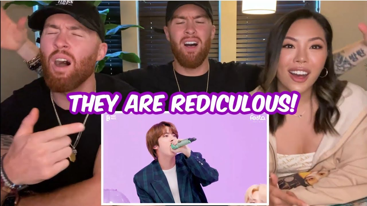 THEY ARE REDICULOUS! BTS Room Live Reaction! #2021BTSFESTA