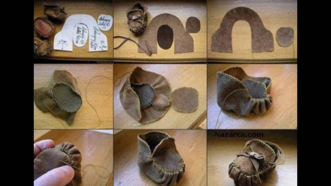 Шьем обувь своими руками
