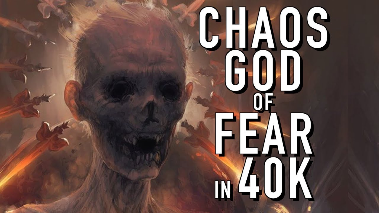 A New Chaos God that Feeds on Fear in Warhammer 40K - YouTube Warhammer 40k Good Chaos Gods