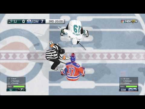 San Jose Sharks vs Edmonton Oilers | NHL 17