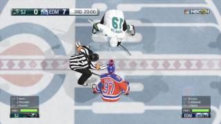San Jose Sharks vs Edmonton Oilers | NHL 17