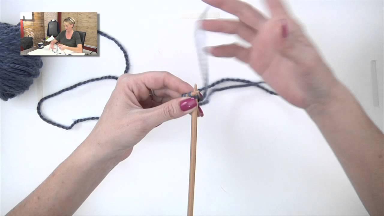 Knitting Help - I-cord Cast-On - YouTube