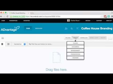 Onehub Tutorial: How to Upload and Manage Files