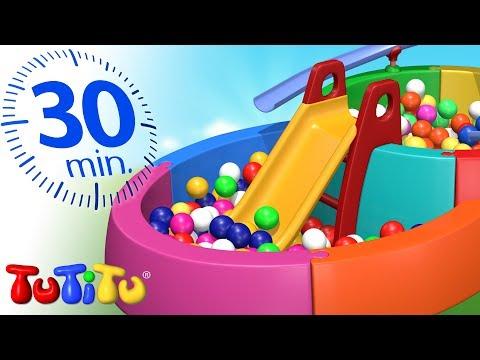 TuTiTu Português | Brinquedos Para Crianças Pequenas | Piscina De Bolas | 30 Minutos