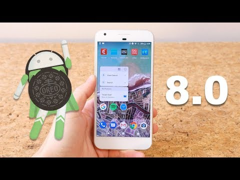 Android 8.0 Oreo On Google Pixel XL