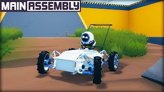 New Vehicle Physics Sandbox with Robot Logic and Free-form Building! (Main Assembly Gameplay)