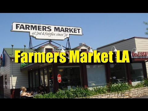 Sights and Sounds of the Original Farmers Market