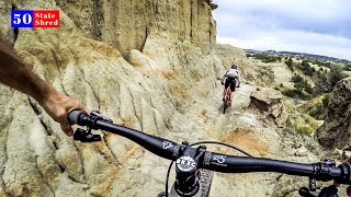 The most interesting trail in the world 🇺🇸 50 STATE SHRED: NORTH DAKOTA