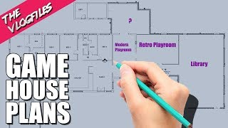 Game House Plans - The Vlog Files   Ep 36