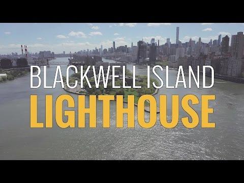Above New York - Blackwell Island Lighthouse