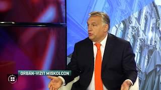 Orbán Viktor Miskolcra látogatott 19-10-09