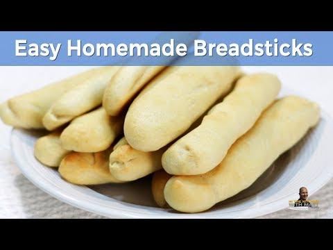 How to Make Breadsticks | Easy Homemade Breadsticks Recipe (Olive Garden Copycat)