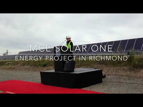MCE Solar One Project in Richmond