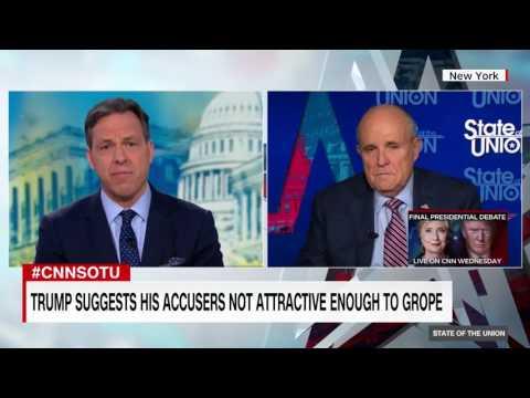 Giuliani says the Clintons employed a 'bimbo squad'