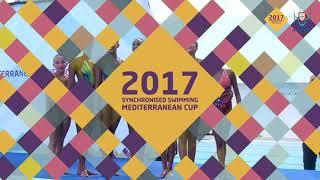 🇾🇪СИНХРОННОЕ ПЛАВАНИЕ КУБОК СРЕДИЗЕМНОМОРЬЯ 2017 SYNCHRONISED SWIMMING MEDITERRANEAN CUP 2017