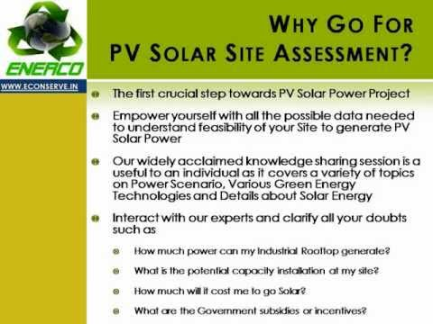 Solar Energy, Solar Photo Voltaic and Solar Power Project (www.econserve.in)