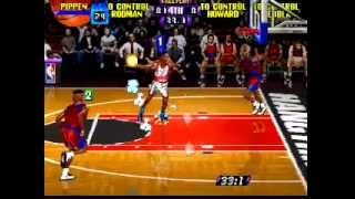 NBA Hangtime (N64) - Perfect Match (Tool-Assisted) by Sabih