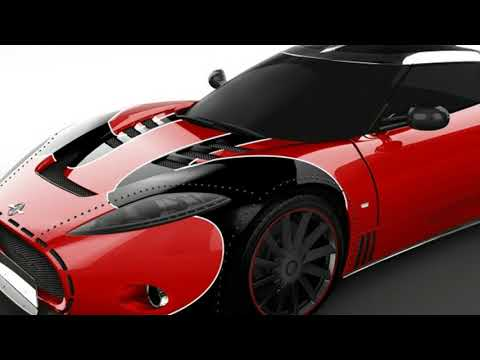 New  Review  :  Spyker reveals special C8 Aileron LM85 to close out model's production
