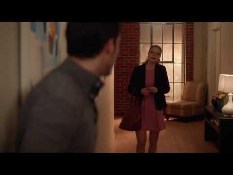 Kara and Mon-El talk about the kiss - Supergirl 2x10
