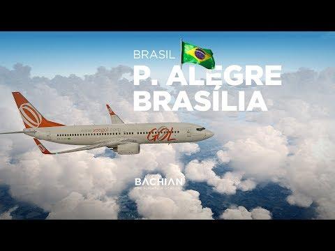 Prepar3Dv4 - B737-800 / Porto Alegre → Brasília