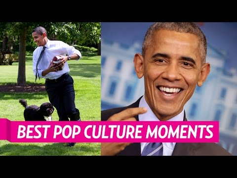 Barack Obama's Best Pop Culture Moments