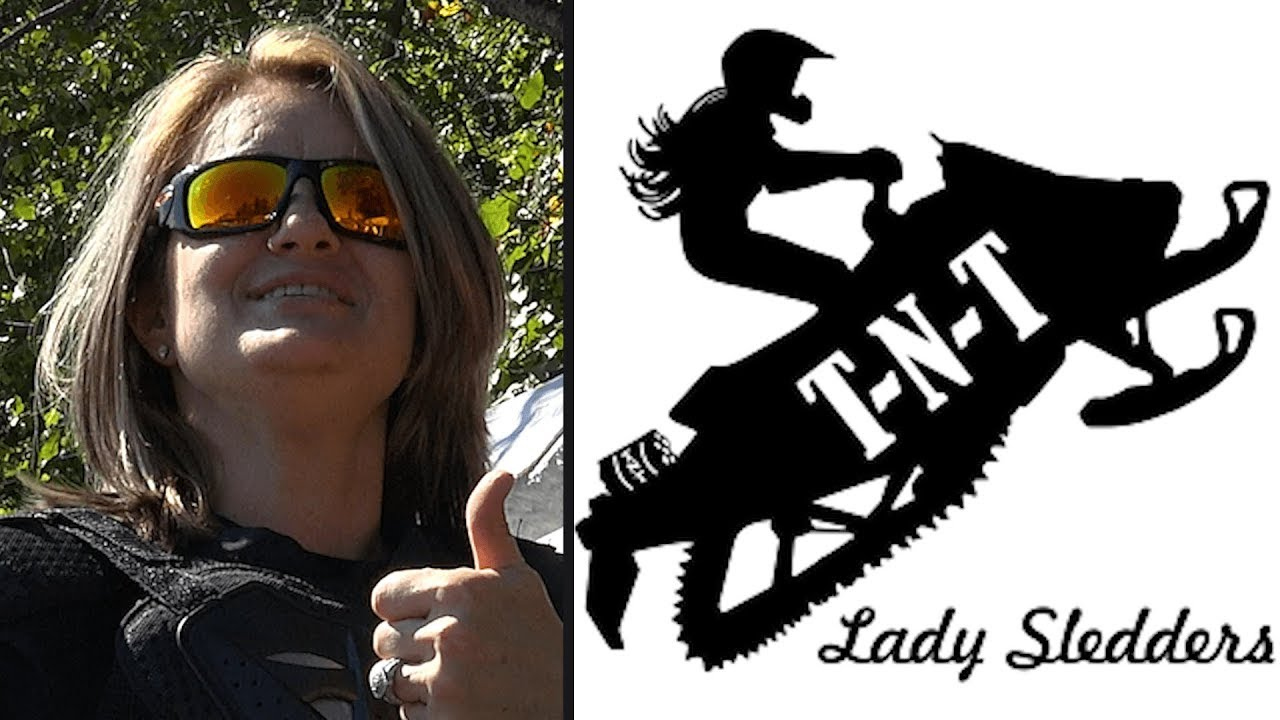 Download Snowmobile Racing on Grass, Terryville CT - TNT Lady Sledders