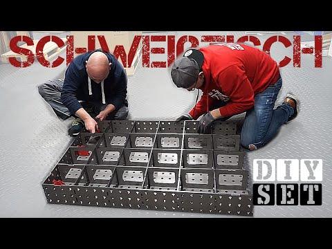 Schweißtisch Bausatz für einen schmalen Taler?! | DIY selber bauen | HDB Schweiß Shop
