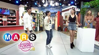 Mars Pa More: 'Pass the moves challenge' with Rere Madrid, Ruru  and Kim  | Mars Magaling