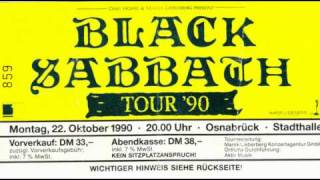 Black Sabbath Live In Osnabrück  The Sabbath Stones