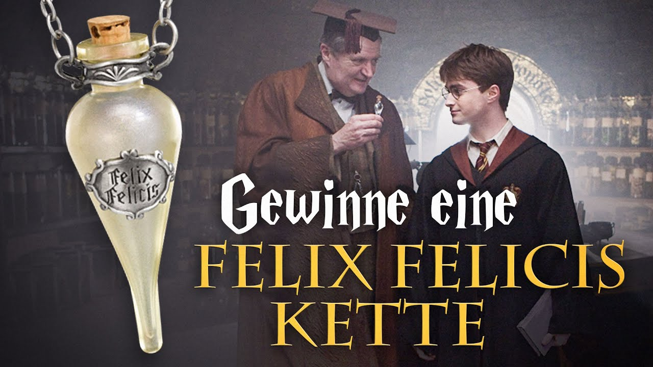 harry potter gewinnspiel felix felicis youtube. Black Bedroom Furniture Sets. Home Design Ideas