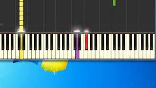I think were alone now [Synthesia Piano] [Piano Tutorial Synthesia]