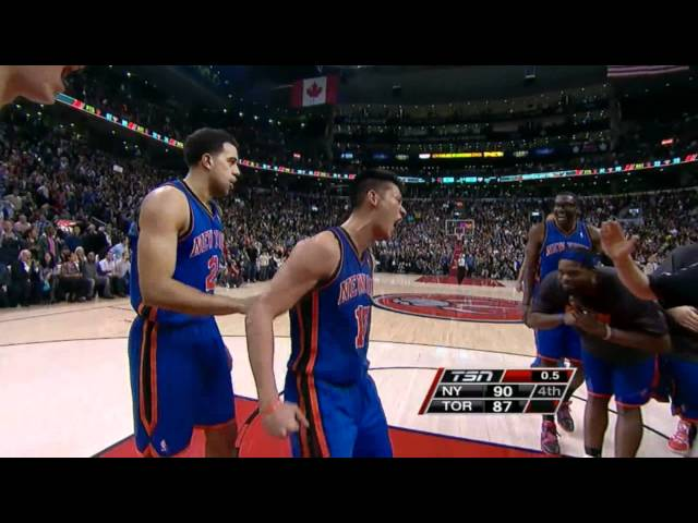 Another proof of that Linsanity is real and still winning games for NYC!