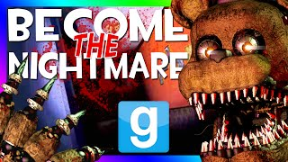 BURNT ANIMATRONICS! FINAL NIGHTS 2 PILL PACK MOD (Gmod For Kids FNAF Sandbox Funny Moments)