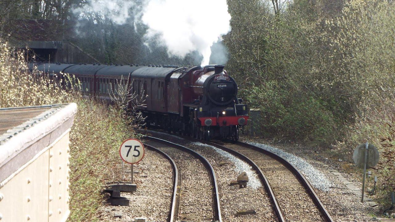 Warminster Steam Train 21317  YouTube