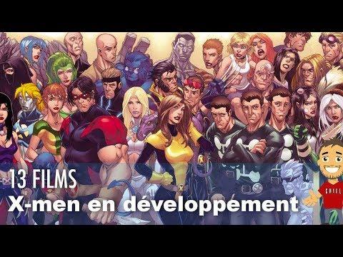 Les 12 films X-Men de la FOX encore en développement !