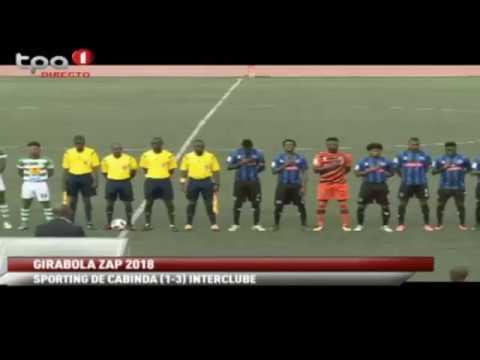 Girabola ZAP 2018 -- 10ª Jornada -- Sporting de Cabinda vs Interclube