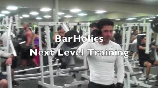 BarHolics: How to use your Local Gym