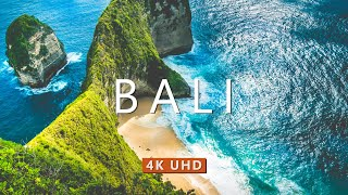 BALI INDONESIA (4K UHD) Ambient Drone Film + Meditation Music for Stress Relief