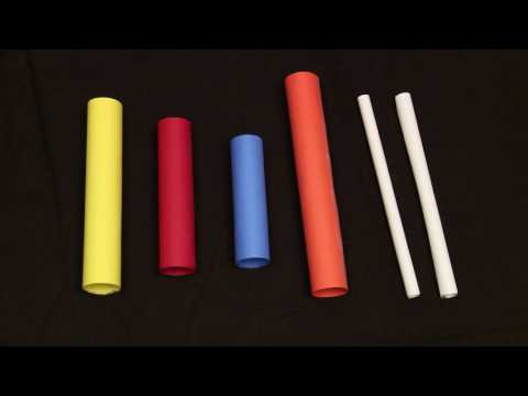 How to Make a Paper Xylophone