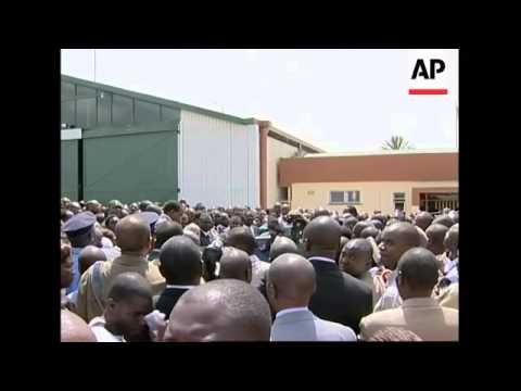 Body of Kenyan minister flown to Nairobi after plane crash