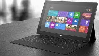 Видео обзор планшета Microsoft Surface RT(Microsoft Surface RT - планшет на базе четырехъядерного процессора NVIDIA Tegra 3 (1.4 ГГц) и операционной системы Windows RT...., 2013-06-25T06:37:08.000Z)