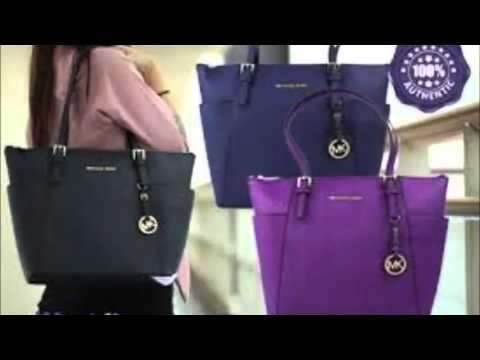 Michael Kors Damen, Tasche, jet set zip - YouTube 12f8cd9eb0