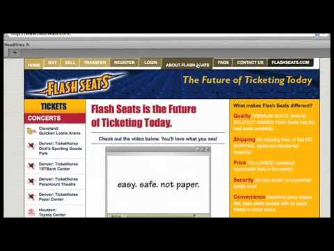 Flash Seats The Future Of Ticketing Today